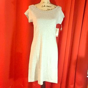 NWT philosophy scoop neck dress. Size M. Gray